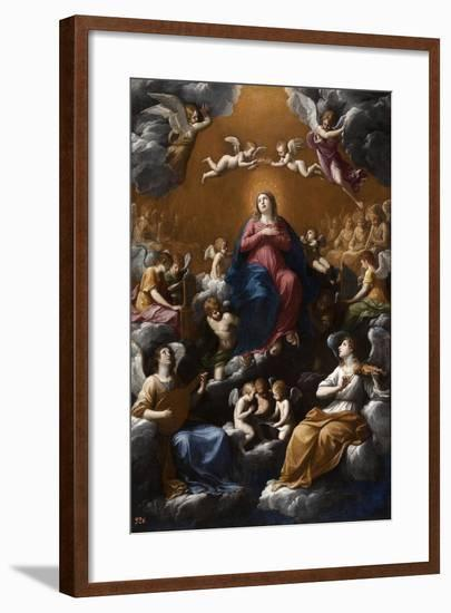 Assumption and Coronation of the Virgin, 1602-1603-Guido Reni-Framed Giclee Print