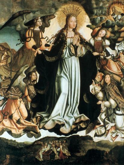 Assumption of the Virgin, C1491-1518-Vicente Gil-Giclee Print