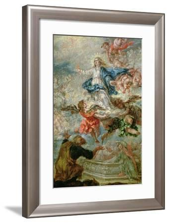 Assumption of the Virgin Mary, 1676-Juan de Valdes Leal-Framed Giclee Print