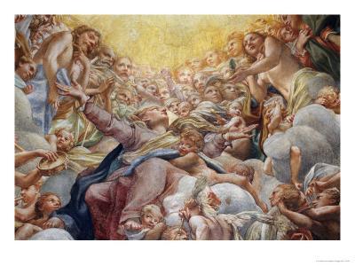 Assumption of the Virgin-Correggio-Giclee Print