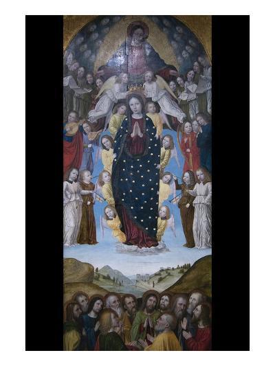 Assumption of the Virgin- Bergognone-Art Print
