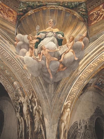 Assumption of the Virgin-Correggio-Photographic Print