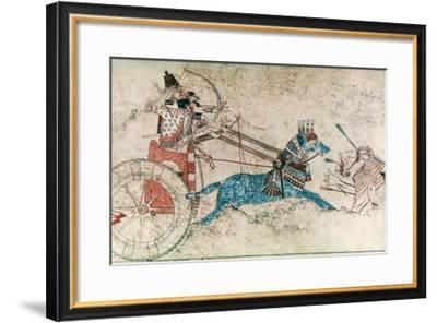 Assyrian King, 730 B.C--Framed Giclee Print