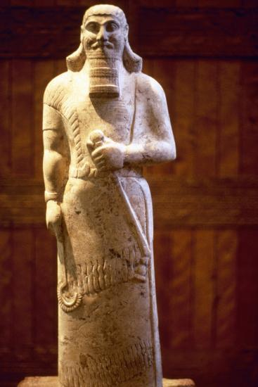 Assyrian King Ashurnasirpal II--Photographic Print