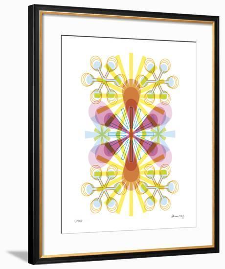 Asterisk-Adrienne Wong-Framed Giclee Print