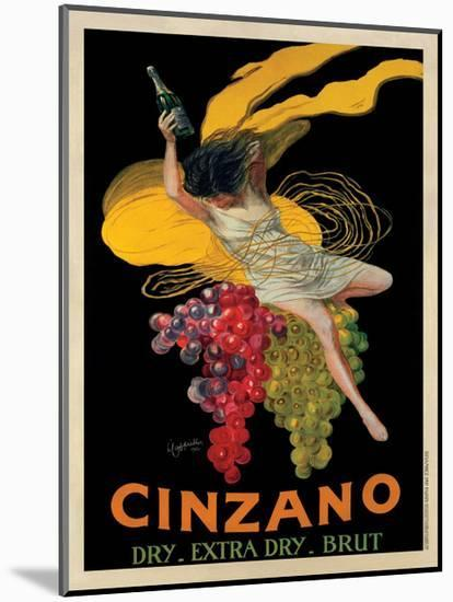 Asti Cinzano, c.1920-Leonetto Cappiello-Mounted Giclee Print