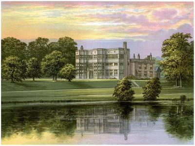 Astley Hall, Lancashire, Home of Baronet De Hoghton, C1880-Benjamin Fawcett-Giclee Print