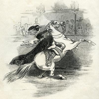 Astley's Amphitheatre, London, Scene in the Circus--Giclee Print