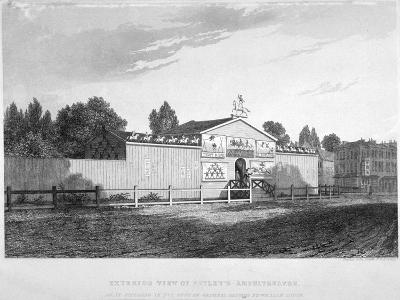 Astley's Amphitheatre, Westminster Bridge Road, Lambeth, London, C1825-Charles John Smith-Giclee Print
