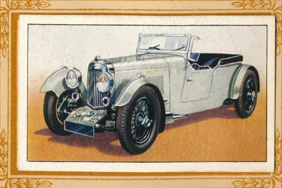 'Aston Martin Four-Seater Tourer', c1936-Unknown-Giclee Print