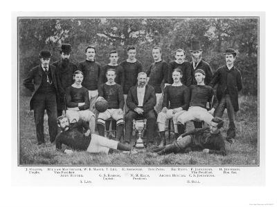 Aston Villa an Early Team Picture--Giclee Print