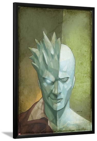 Astonishing X-Men #62 Cover: Iceman-Phil Noto-Lamina Framed Poster