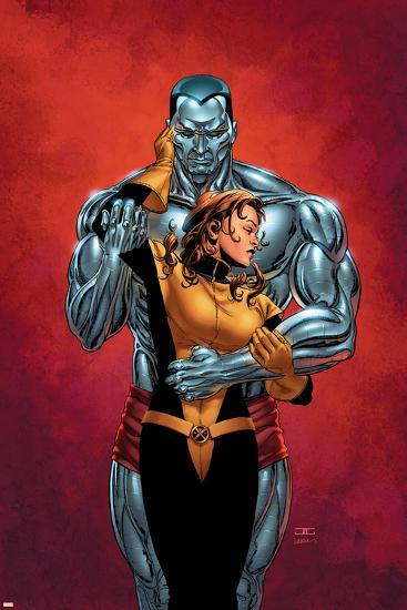 Astonishing X-Men No.6 Cover: Colossus, Shadowcat, Pryde and Kitty-John Cassaday-Art Print