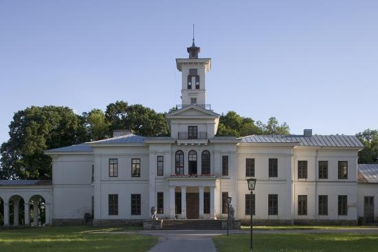 Astravas Palace (19th Century)--Photographic Print