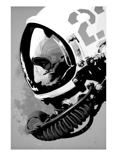 Astro Bear-Hidden Moves-Premium Giclee Print