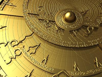 Astrolabe, Computer Artwork-PASIEKA-Photographic Print