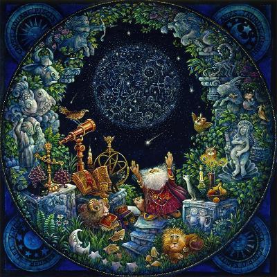 Astrologer 2-Bill Bell-Giclee Print