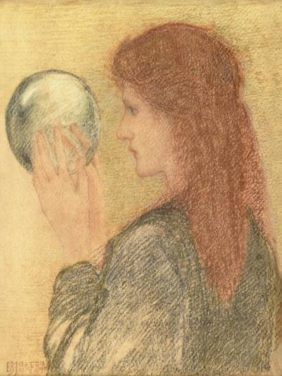 Astrologia, 1893 (Pastel on Paper)-Edward Burne-Jones-Giclee Print