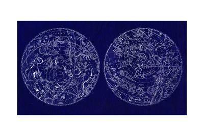 Astrological Charts--Premium Giclee Print