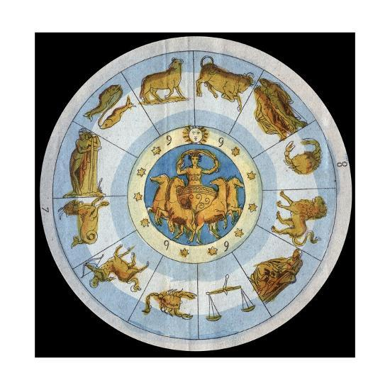 Astrological Sign-Stefano Bianchetti-Giclee Print