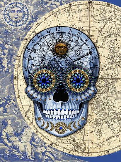 Astrologiskull-Fusion Idol Arts-Giclee Print