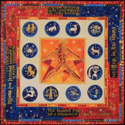 Astrology, 1999-Sabira Manek-Giclee Print