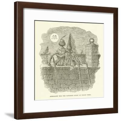 Astrology Was the Favorite Study of Those Times--Framed Giclee Print