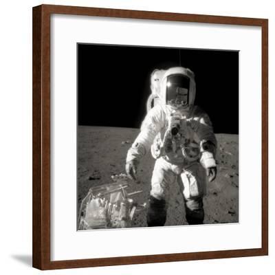 Astronaut Alan Bean on the Moon