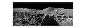 Astronaut And Lunar Rover, Apollo 17
