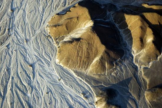 Astronaut, Nazca Lines in Peru- faberfoto-it-Photographic Print