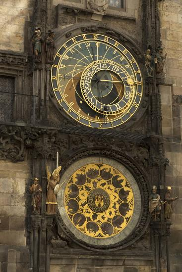 Astronomical Clock, Old Town Hall, Prague, Czech Republic, Europe-Angelo-Photographic Print