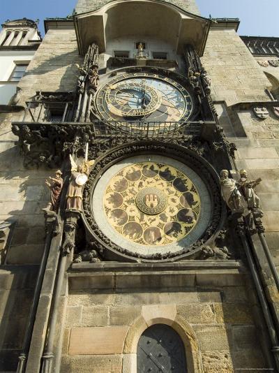 Astronomical Clock, Stare Mesto, Prague, Unesco World Heritage Site, Czech Republic-Ethel Davies-Photographic Print