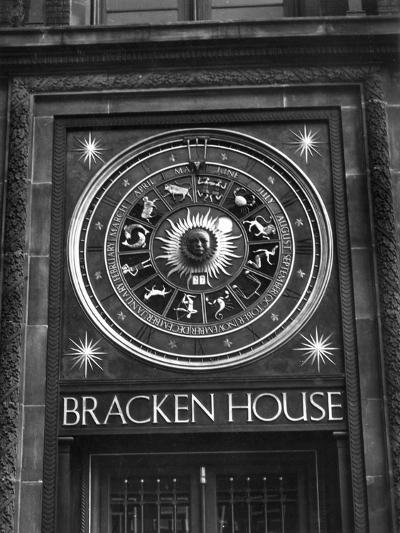 Astronomical Clock-Fred Musto-Photographic Print