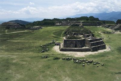 Astronomical Observatory or Building J, Archaeological Site of Monte Alban--Photographic Print