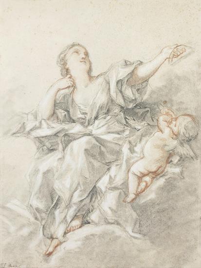 Astronomy; L'Astronomie-Francois Boucher-Giclee Print