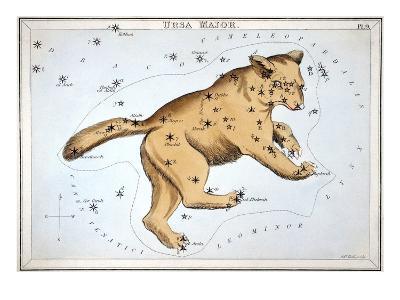 Astronomy: Ursa Major-Sidney Hall-Giclee Print