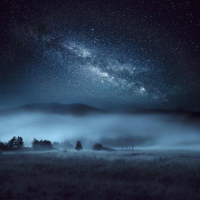 Astrophotography, Milky Way, Scotland-Galyaivanova-Photographic Print