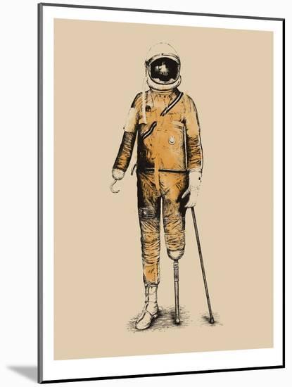 Astropirate-Florent Bodart-Mounted Art Print