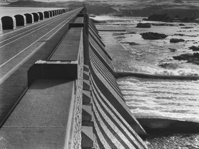 Aswan Dam, Built at the First Cataract of the Nile River--Photographic Print
