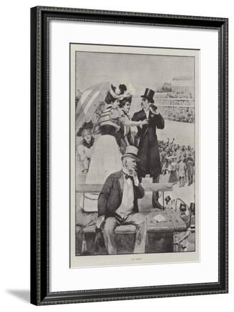 At Ascot--Framed Giclee Print