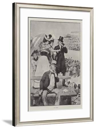 At Ascot--Framed Giclee Print