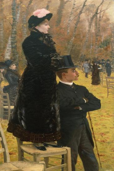 At Auteuil Races-Giuseppe De Nittis-Giclee Print