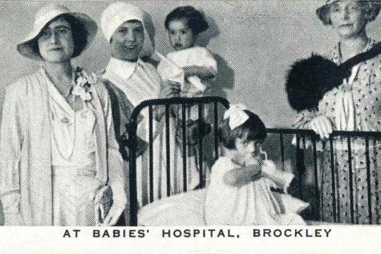 'At Babies' Hospital, Brockley', 1933 (1937)-Unknown-Photographic Print
