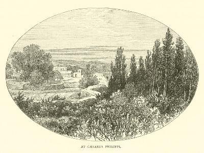 At Caesarea Philippi--Giclee Print