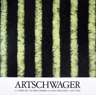 At Castelli's-Richard Artschwager-Collectable Print