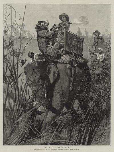 At Close Quarters--Giclee Print