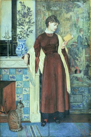 At Home: a Portrait, 1872-Walter Crane-Giclee Print