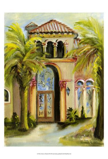 At Home in Paradise II-Anitta Martin-Art Print