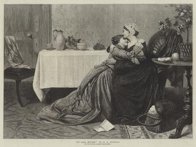 At Last, Mother!-David Wilkie Wynfield-Giclee Print