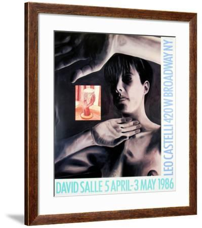 At Leo Castelli's, 1986-David Salle-Framed Collectable Print